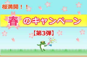 【第3弾】桜満開!春のキャンペーンローンファンド3号
